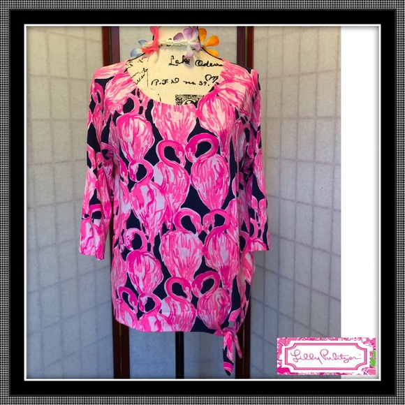 Lilly Pulitzer Tops - Beautiful Lily Top - EUC - Size L